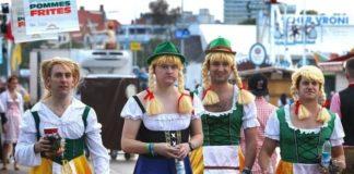 Мюнхен Германия Октоберфест