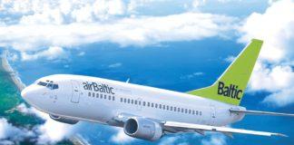 Air Baltic, самолет