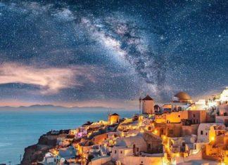 Санторини, Греция