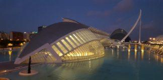 Валенсия, Испания. Город наук и искусств