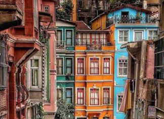 Стамбул, Турция, туристы