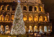 Рим, Италия, Рождество, Новый Год