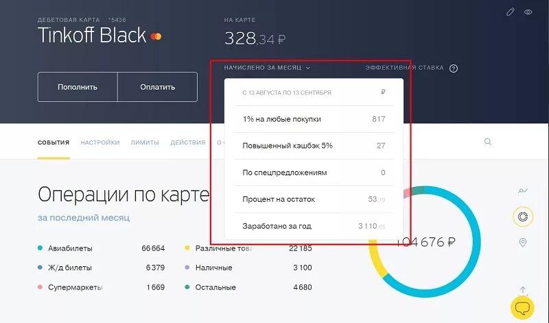 Tinkoff Black – лучшая дебетовая карта с процентом на остаток