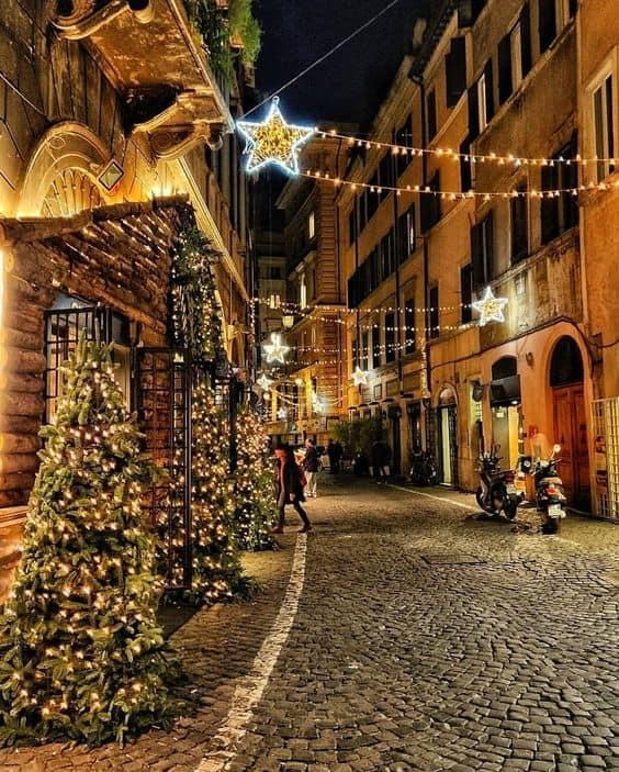 Новый Год, Рождество, Европа, Италия