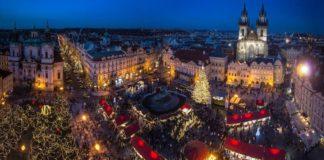 Прага, Чехия, Новый год в Европе